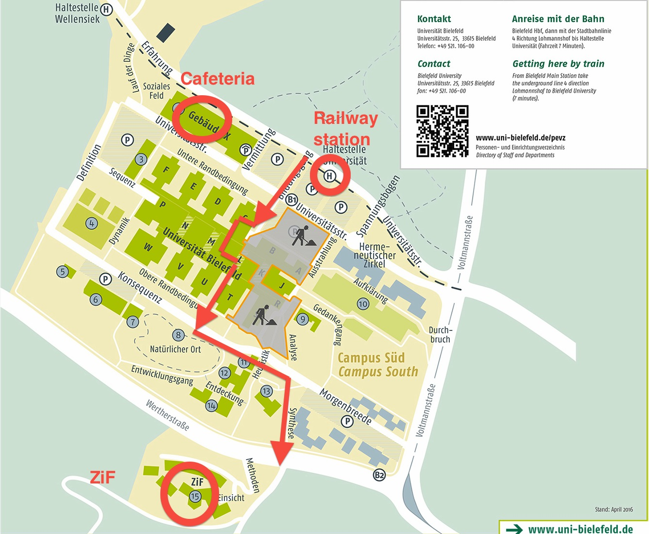 Bielefeld and Campus information